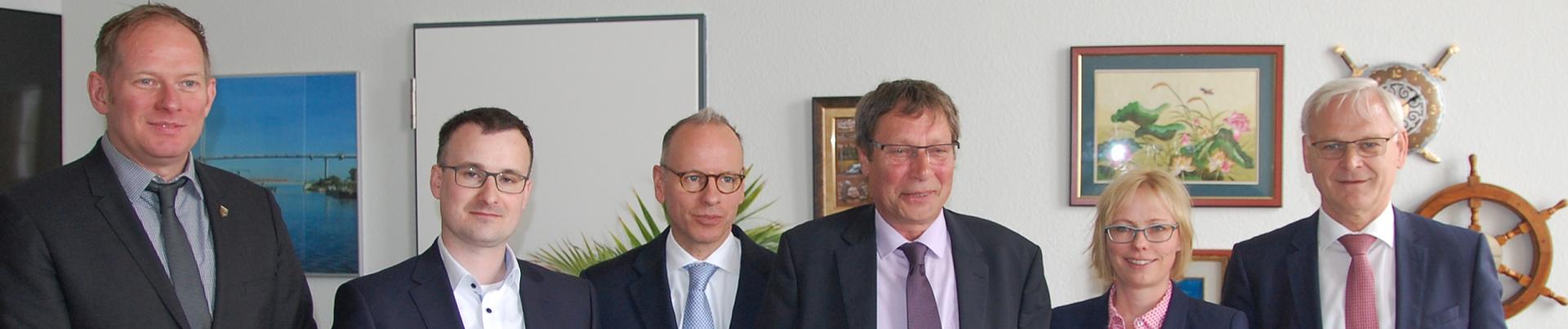 Unterzeichnung Kooperationsvereinbarung zur IT-Konsolidierung