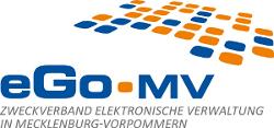 Logo eGo-MV©Zweckverband Elektronische Verwaltung in Mecklenburg-Vorpommern